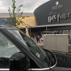 corporate black taxi hire london for harry potter studio trip